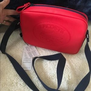 Brand new with tag Lacoste camera bag